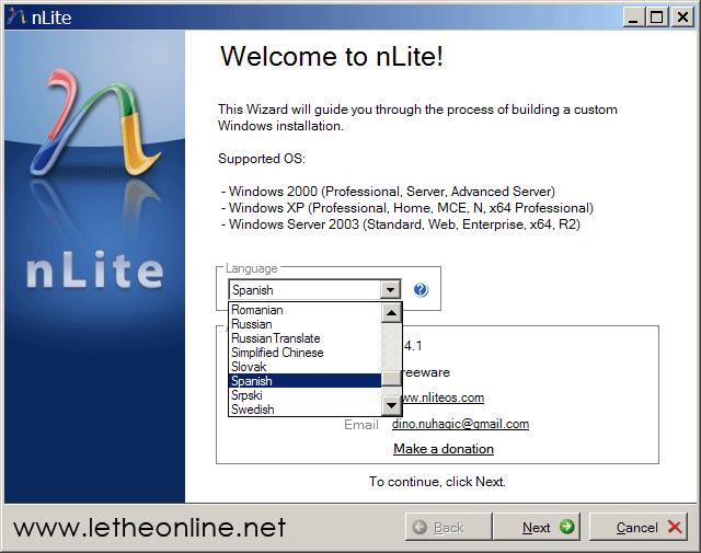 Manual de nLite y COMO INTEGRAR DRIVERS AL WIN Nlitemanual1